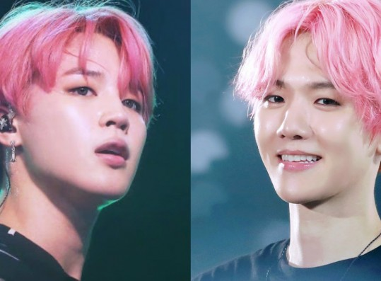 These Male Idols With Pink Hair Look Like Walking Cherry Blossoms