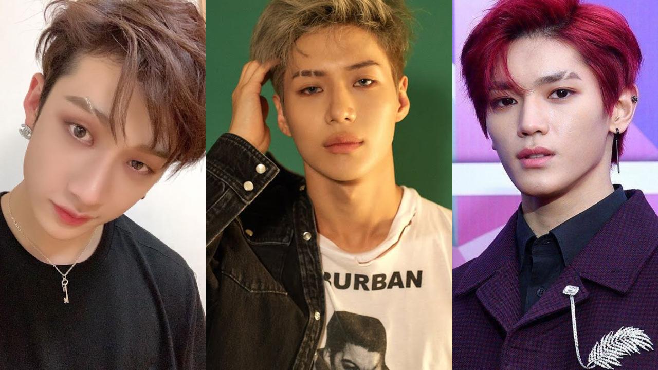 These 11 K Pop Idols Rocked The Eyebrow Slit Trend According To K Netizens Kpophit Kpop Hit