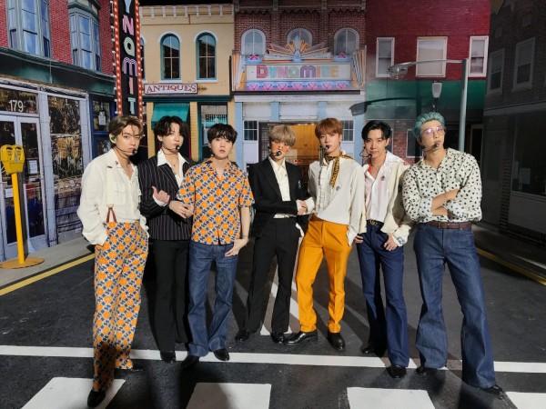BTS unveils live band version of 'Dynamite' on NPR music