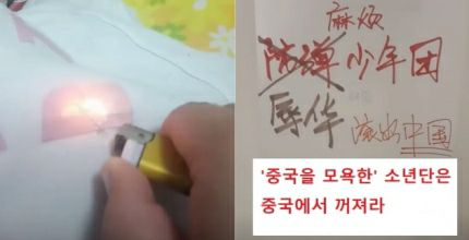 Chinese Netizens Are Burning BTS Merchandise Following Van Fleet Award Controversy