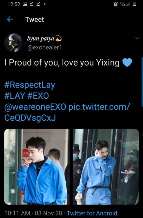 Fans Trend #RespectLay To Defend EXO Lay From Malicious Comments Following Dance Competition Win