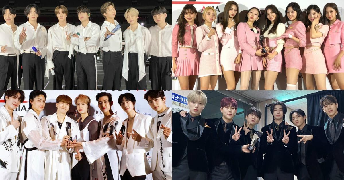 The 2020 Asia Artist Awards 2020 Aaas Announce Winners Kpopstarz