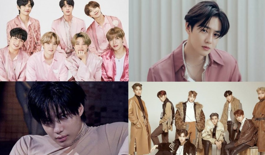 Interpark Releases 2020 'Album of the Year', BTS, EXO Suho, ATEEZ, More Are Included