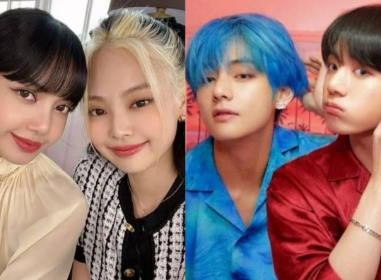BLACKPINK's 'JenLisa' and BTS 'TaeKook' Are Nominated For Bousnid's