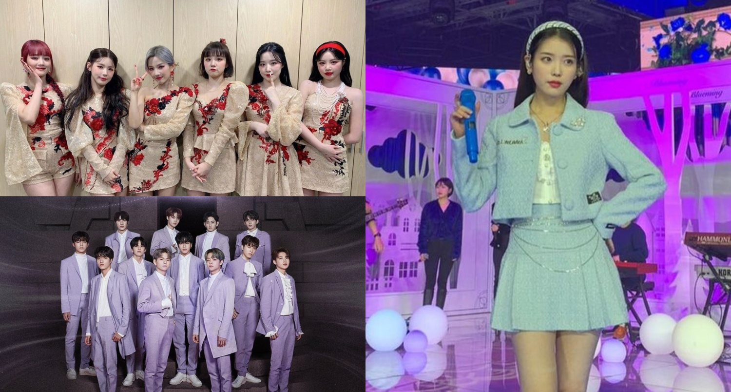 (G)I-DLE, IU, TREASURE & More: Top 25 Most Streamed 2021 K ...