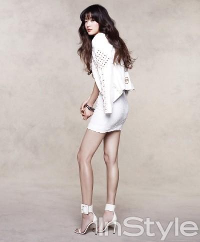Jeon Ji Hyun bẽ bàng vì bị phát hiện photoshop chân thon