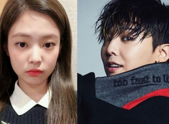 BLACKPINK Jennie, BIGBANG G-Dragon