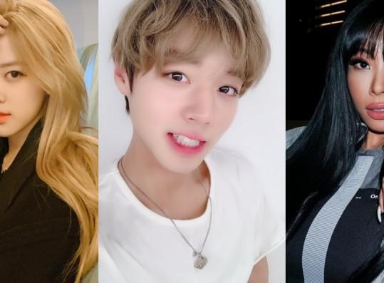 BLACKPINK Rosé, Park Ji Hoon and Jessi