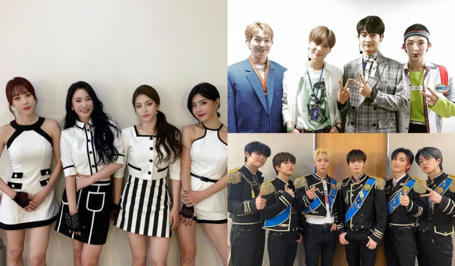 BRAVE GIRLS, SHINee and ONF