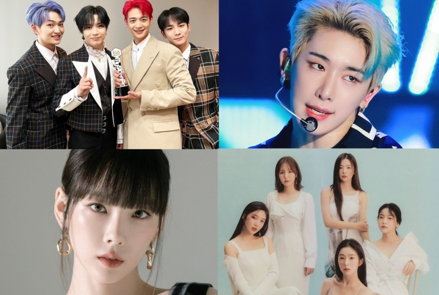 SHINee, BTS, Wonho, and More: World Music Awards Reveals 'Top 10 Albums In Korea'