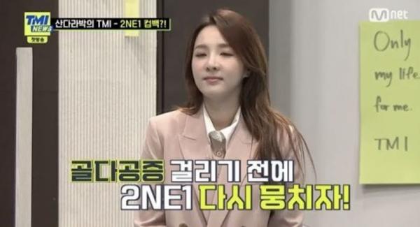 Sandara Park Talks About Possible 2NE1 Reunion