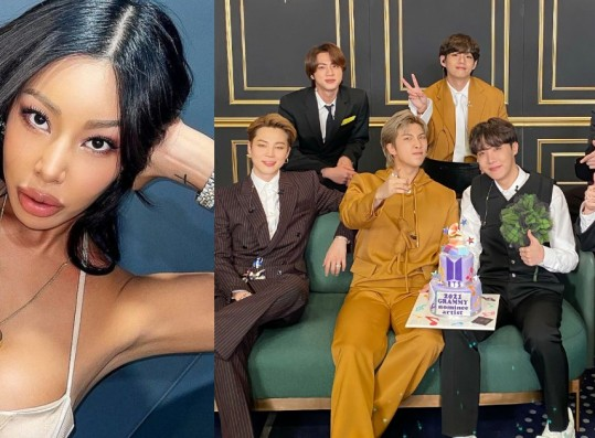 Jessi Reveals This BTS Member is Her Ideal Type + Would Like to Duet With Them