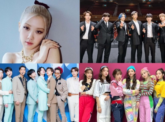 BLACKPINK Rosé Tops 'Weekly Top 10 Music Videos' for 2 Consecutive Weeks + Super Junior, WOODZ Join as New Entries
