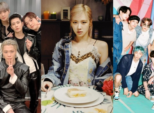 BLACKPINK Rosé, ASTRO, BTS, and More:  These are the Most-Watched K-Pop MVs for the 15th Week of 2021