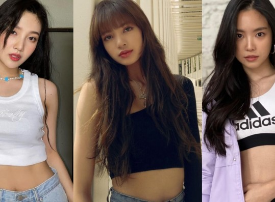Dispatch Selects the 9 Female Idols Who Slay Crop Tops