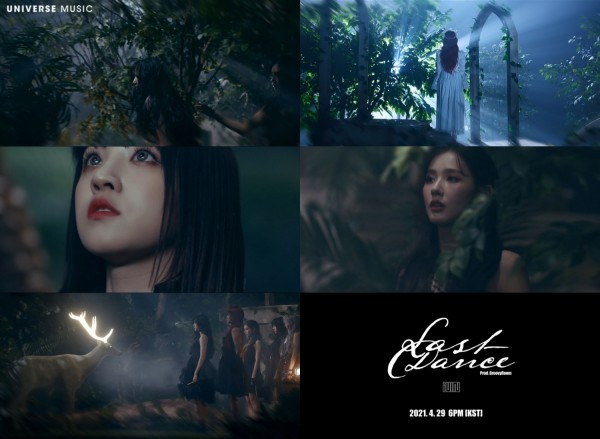 Stills from the G(I)-DLE - Prologue: The Witch Queen