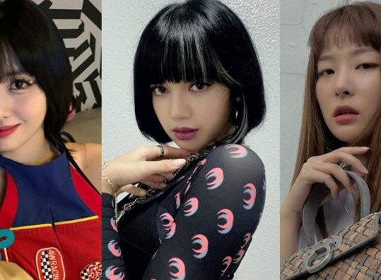 Dispatch Selects the 10 Female Idols Who Look Amazing with Bangs