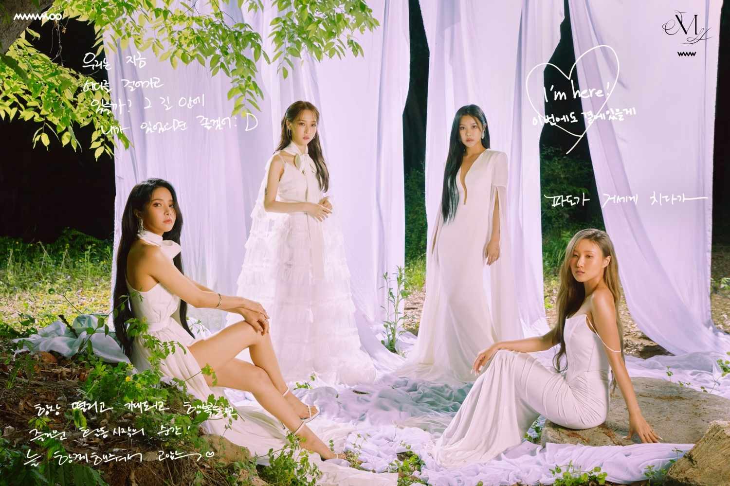 Mamamoo, beautiful smile… 'M Countdown' Encouragement of live shooters
