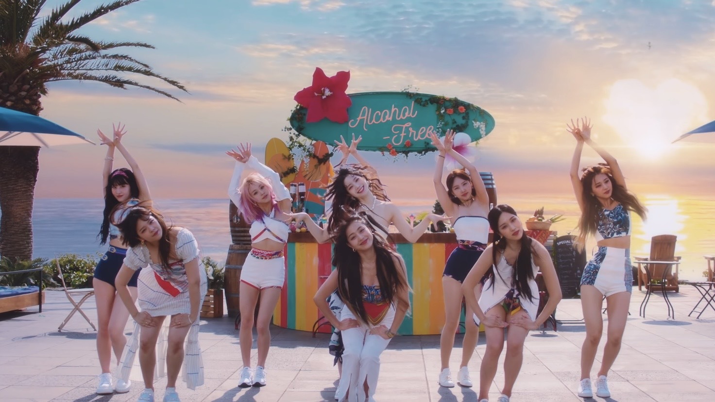 TWICE unveils new song 'Alcohol-Free' performance for the first time at 'TheEllenShow' in the US