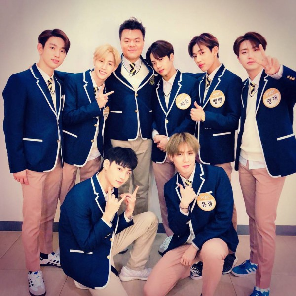 J.Y. Park and GOT7