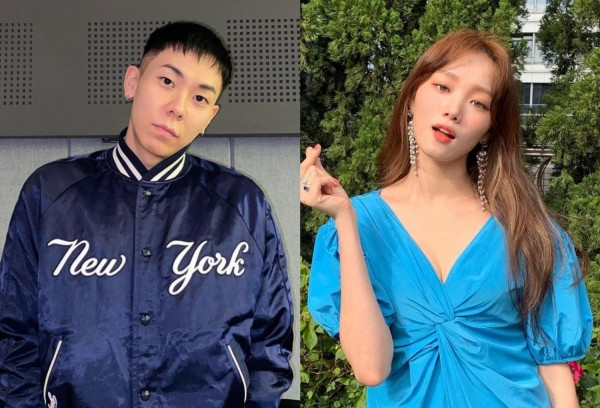 Loco and Lee Sung Kyung