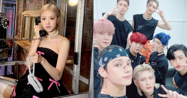 BLACKPINK Rosé and ATEEZ Selected as the Best Female and Male Idols for the First Half of 2021