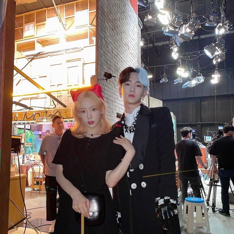 Taeyeon X Key, Kiki Cruella Perfect Transformation