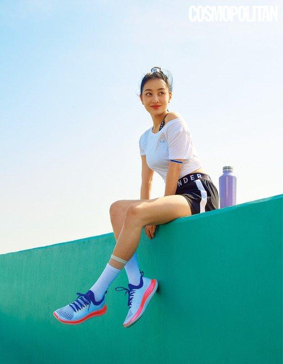 TWICE Jihyo, healthy beauty through exercise… strong body
