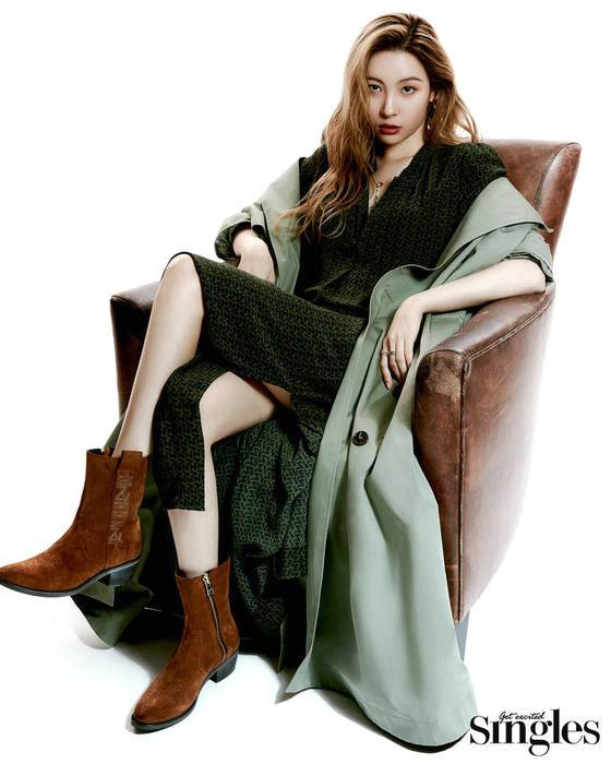 Sunmi, fatal 'French chic' like the protagonist in a French movie