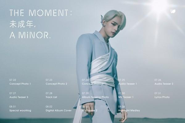 Kim Woojin Solo Debut