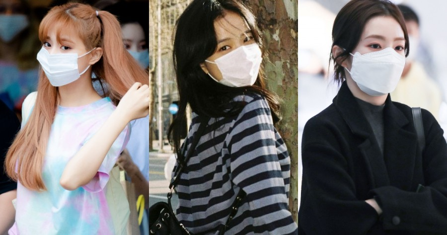 These are the Top 10 Female Idols Who Look the Best While Wearing a Mask