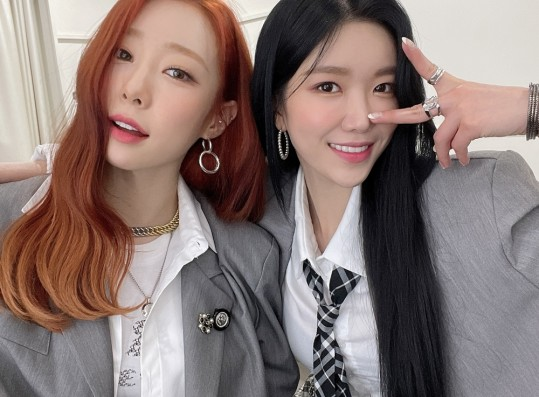 WJSN Yeonjung and Dawon at the KBS'
