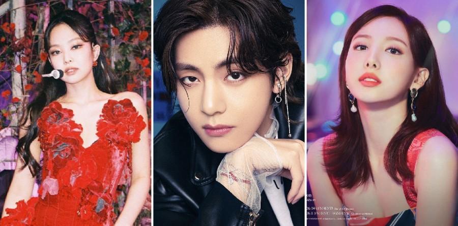 Jennie, V, Nayeon