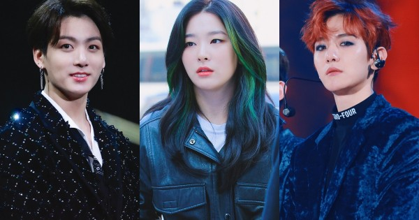 These 12 K-Pop Idols are Known as the Aces of their Group