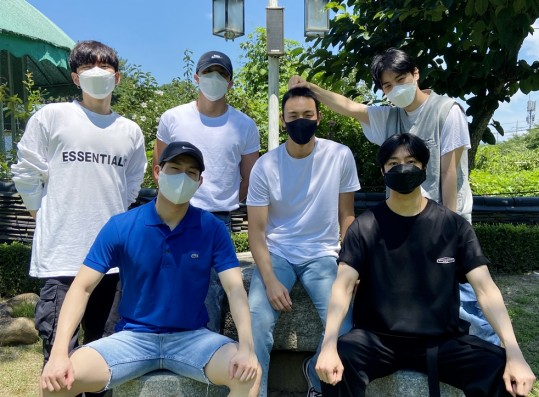 MONSTA X Together, Sending Off Shownu Before His Military Service