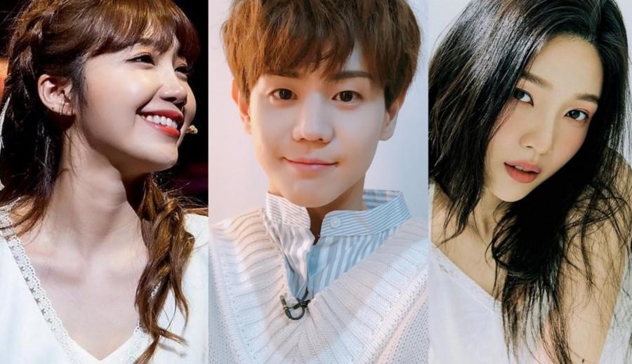 Eunji, Yoseop, Joy
