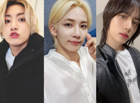 Male Idols with Long Hair