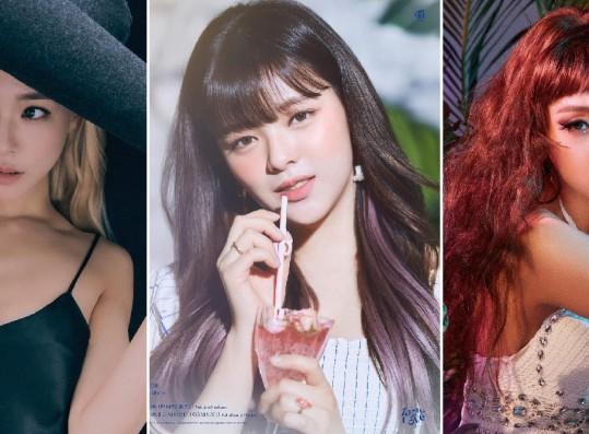 Tiffany, Jeongyeon, Minzy