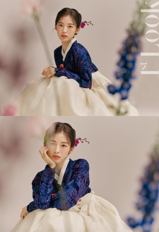 OH MY GIRL Arin Hanbok pictorial… Like role model Suzy