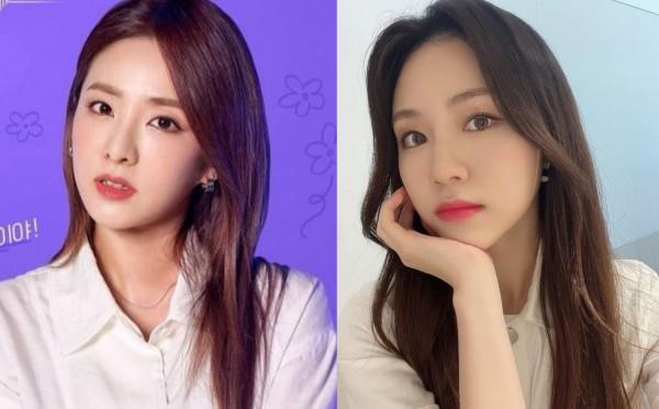 Dara and Rocket Punch Dahyun