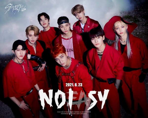 Stray Kids NOEASY promo