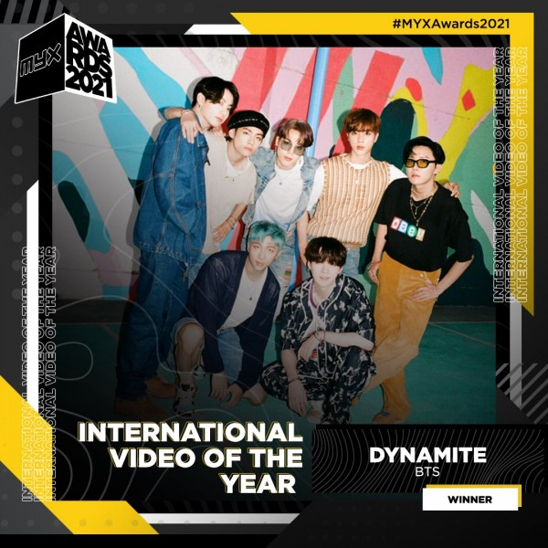BTS MYX Awards 2021