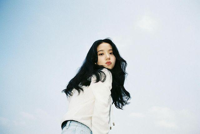 Blackpink Jisoo, the best female idol for ice cream model
