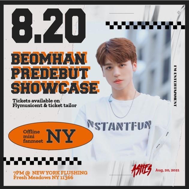 Beomhan Predebut Solo Showcase