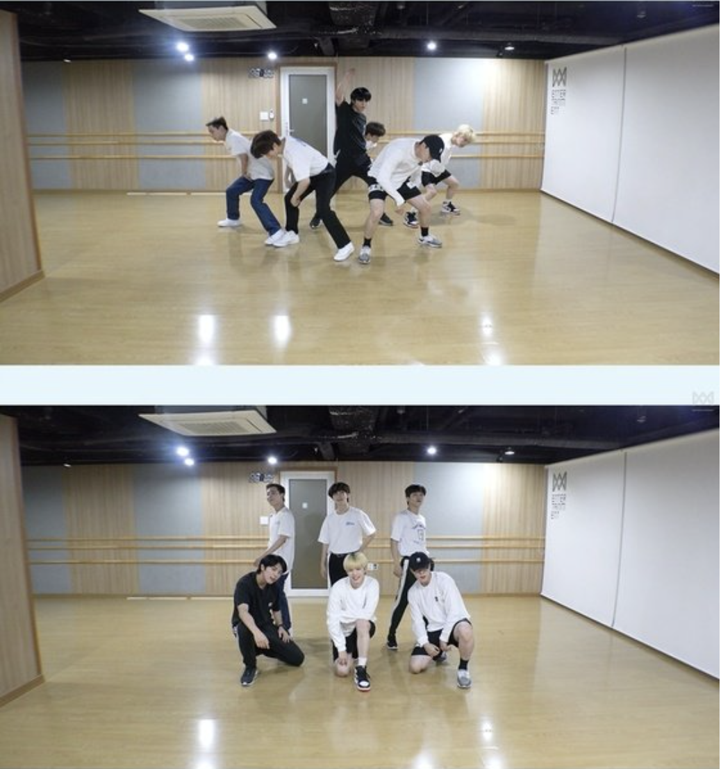 ONF releases 'POPPING' choreography video... Refreshing + Energetic Performance