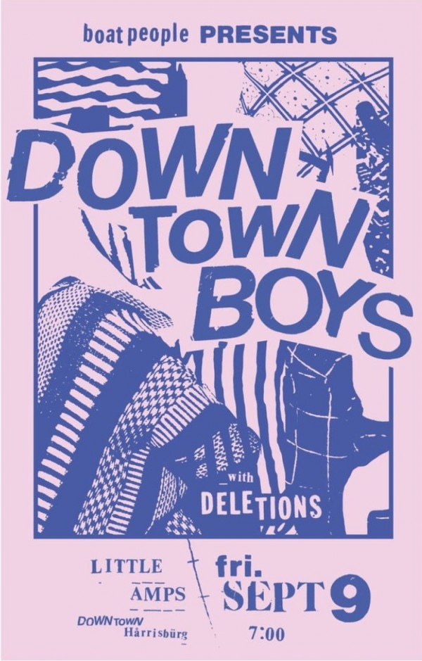 Downtown Boys Poster