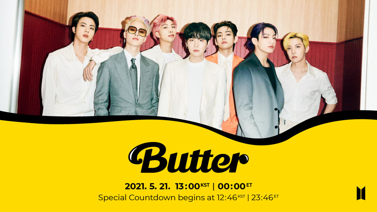 BTS to release 'Butter' remix on the 27th... Featuring Megan Thee Stallion