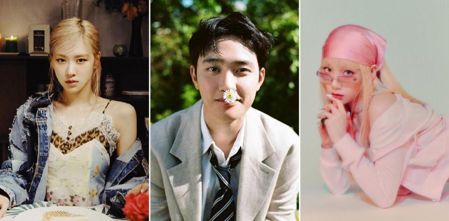 Rose, D.O, Taeyeon