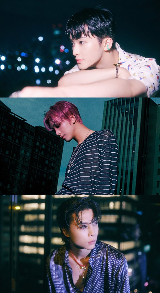 NCT 127, 3rd regular album 'Sticker' teaser released... A visual that stands out in the night view of Seoul