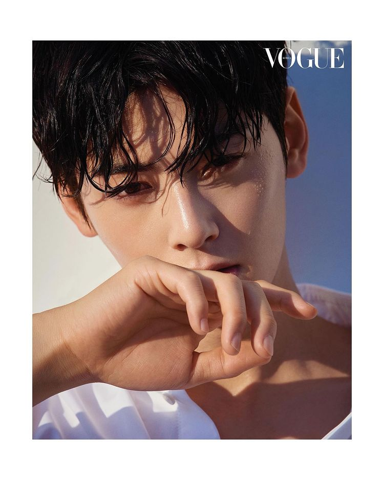 Cha Eun-woo, the perfect sculptural handsome man… 'Face genius' impossible to implement CG